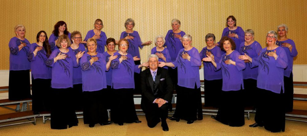 Harmony Heritage Chorus with Director Bob O'Connell
